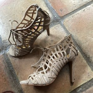 Dolce Vita cage sandals heels size 7